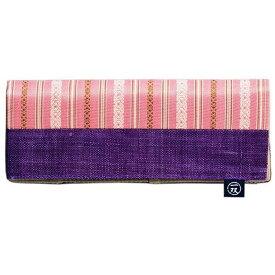 【5点までメール便可能】イシダ 一双 博多織箸袋 献上縞 桜 懐箸用箸袋 箸袋