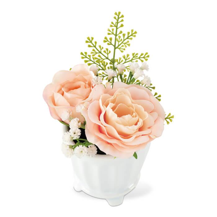 消臭アーティフィシャルフラワー ミラベル MIRABELLE ARTIFICIAL FLOWER S KH-61053 Pink ピンク KISHIMA キシマ 観葉植物 CT触媒