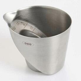 オクソー OXO ステンレスアングルドメジャーカップ [ 3112600 ] 計量カップ メジャーカップ 目盛付き カクテルツール キッチン用品