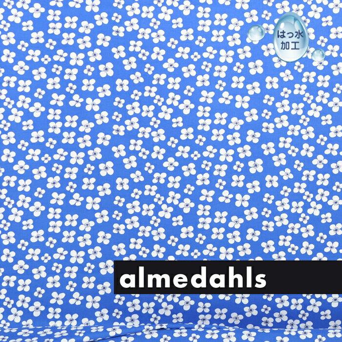 [ 1.5mまで メール便 送料無料 ] アルメダールス ( almedahls ) 北欧 コーティング生地 布 ファブリック ベラミ ( 96700-580 ) ブルー ( 30cm以上〜10cm単位で切り売り ) [ アドキッチン ]