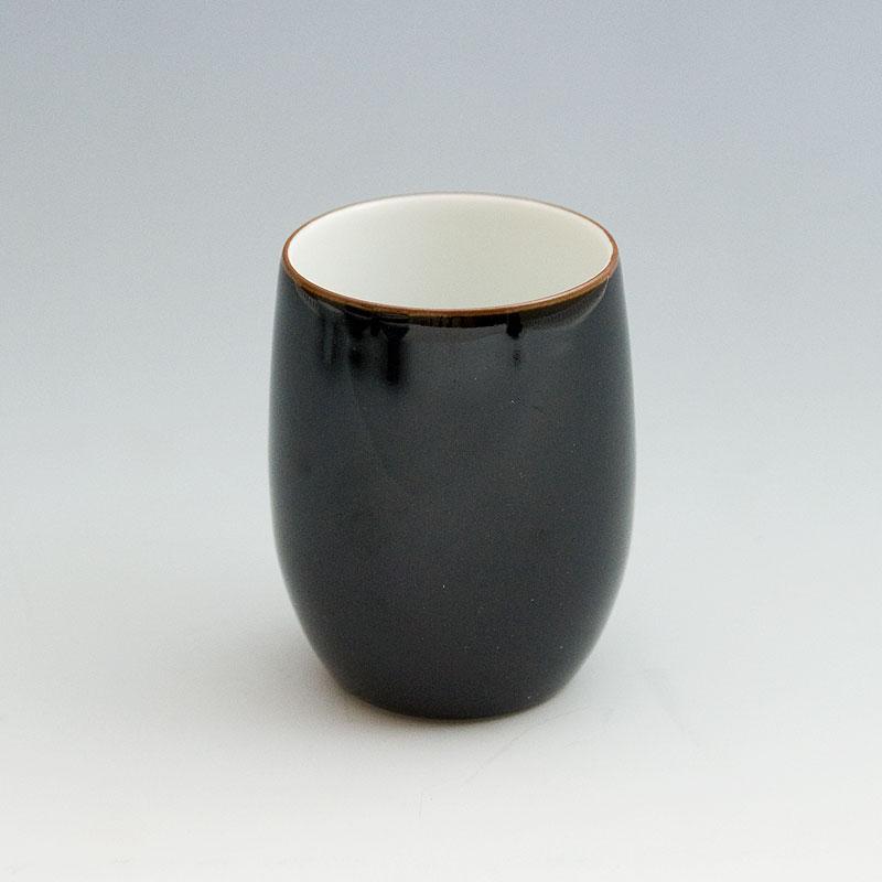 白山陶器 ( hakusan ) ベーシックなつめ湯呑 大200ml 天目 [ アドキッチン ]