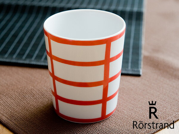 ロールストランド Rorstrand ティオグルッペン マグカップ < レッド >【 アドキッチン 】