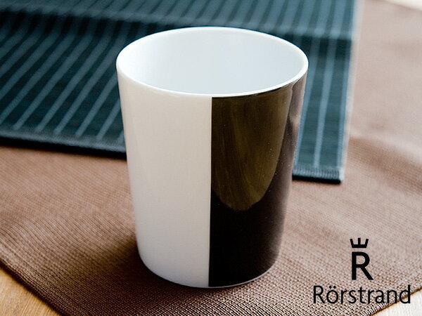 ロールストランド Rorstrand ティオグルッペン マグカップ < ブラック >【 アドキッチン 】