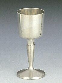 【送料無料】 大阪錫器 ワインカップ 白 [ 桐箱入り ] 95mL