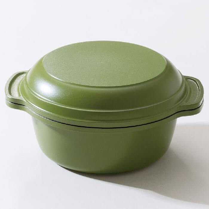 ご飯鍋 Wu Wen ONES PAN ウー・ウェン ワンズポット 炊飯鍋(WO14BG)<ビターグリーン>