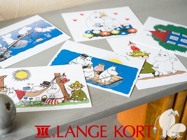 [ メール便可 ] Lange Kort ラングアート ムーミン ポストカード A GIFTCARD