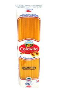 \2/15限定!エントリーで最大P19倍♪/Colavita(コラヴィータ)スパゲッティーニ(1.45mm) 500g【 ※ご注文後のキャンセル・返品・交換不可。 】