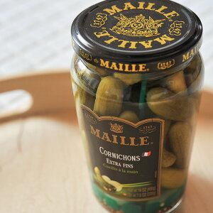 MAILLE/マイユ コルニッション (瓶) 【きゅうりの酢漬け/ピクルス】 《food》<220g>【 ※ご注文後のキャンセル・返品・交換不可。 】