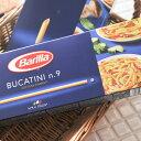 【当店おすすめ食材】Barilla/バリラ ブカティーニ No.9 【ロングパスタ/BUCATINI】 《food》<500g>