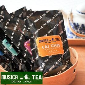 【当店おすすめ食材】MUSICA TEA/ムジカティー ライチ 【ムジカ紅茶/堂島/LAI CHEE】 《food》<100g>【キャンセル・返品・交換不可】