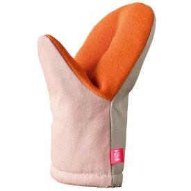 オークス レイエ ( Leye ) ミトン 耐熱 グッとつかめる ピンク/グレー LS1561 キッチン 鍋つかみ