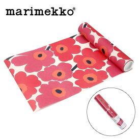 マリメッコ marimekko テーブルランナー 552610 ウニッコ レッド 33cmx4.8m UNIKKO テーブルクロス ランチョンマット