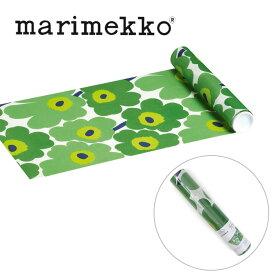 マリメッコ marimekko テーブルランナー 552620 ウニッコ グリーン 33cmx4.8m UNIKKO テーブルクロス ランチョンマット