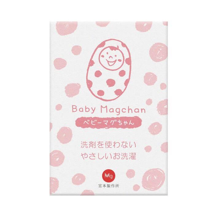 ベビーマグちゃん ピンク 洗濯洗剤 洗剤 洗濯 消臭 除菌 マグネシウム 赤ちゃん 部屋干し ベビーマグ べびーまぐ ベビマグ 宮本製作所 赤ちゃん 肌着 敏感肌 [ 送料無料 ]
