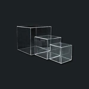 アクリルディスプレイ サイコロトーメー 4面体 51769-5 300×300×H300mm【 アドキッチン 】