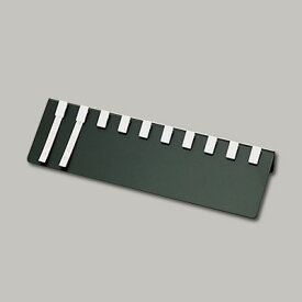 えいむ 10列伝票チップばさみ(エンビ製) 両面テープタイプ PH-5 360×75mm