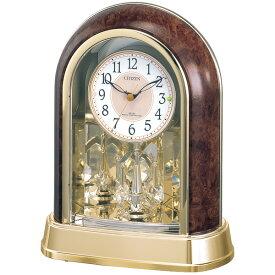 【御祝・内祝に最適のギフト特集】シチズン 電波置時計 パルドリームR656 (4RY656-023)【楽ギフ_のし】
