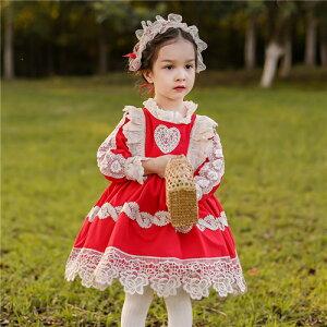 子どもドレス ロリータドレス ワンピース プリンセスドレス お姫様ドレス ハロウィン クリスマス衣装 プレゼント 女の子 衣装 子供 コスプレ 仮装 キッズ ワンピース 子供 パーティー 変装 c