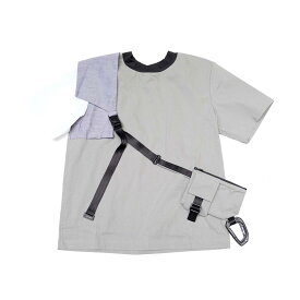 Compartment Top with bag - Gray【WEAVISM ウィービズム】【2019SS】【UNISEX ユニセックス】【201905】