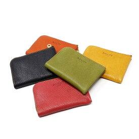 『マイクロウォレット』(全5色)オージー/カードサイズの極小ウォレット ミニ財布 小銭入れ コインケース 小さい 財布【AGILITY affa(アジリティアッファ)】(1200)【ネコポス】