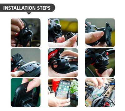 スマホホルダー自転車バイクミニベロケーススマホ自転車ホルダーバイクホルダーマウントマウントホルダーホルダーバイクナビ自転車用バイク用携帯ホルダーロードバイクスマートフォン携帯GPSナビバンドADELPHOS-A1