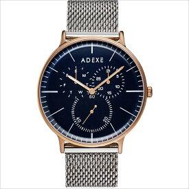 ADEXE (アデクス) 1868A-10 ユニセックス 腕時計 GRANDE (グランデ) 41mm ローズゴールド ブルー シルバー メッシュ ギフト インスタ映えマスト! ADEXE (アデクス)
