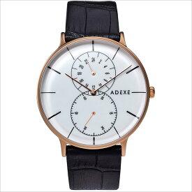 ADEXE (アデクス) 1868D-03 ユニセックス 腕時計 GRANDE (グランデ) 41mm ローズゴールド ホワイト ブラック ギフト インスタ映えマスト! ADEXE (アデクス)