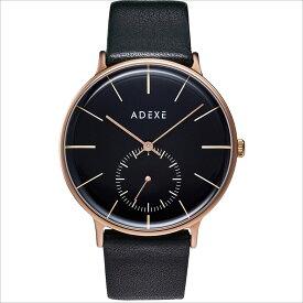 ADEXE (アデクス) 1868E-05 ユニセックス 腕時計 GRANDE (グランデ) 41mm ローズゴールド ブラック ギフト インスタ映えマスト! ADEXE (アデクス)