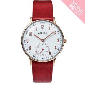 ADEXE (アデクス) 2043C-03-JP18JN ユニセックス 腕時計 PETITE (プチ) 33mm ローズゴールド レッド ギフト インスタ映えマスト!sweet7月号掲載モデル ADEXE (アデクス)