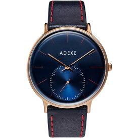 ADEXE (アデクス) 1868E-T01 ユニセックス 腕時計 GRANDE (グランデ) 41mm ローズゴールド ダークブルー ネイビー ギフト インスタ映えマスト! ADEXE (アデクス)