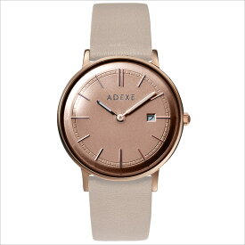 ADEXE (アデクス) 2043A-T03 ユニセックス 腕時計 PETITE (プチ) 33mm ローズゴールド ベージュ ギフト インスタ映えマスト!sweet7月号掲載モデル ADEXE (アデクス)