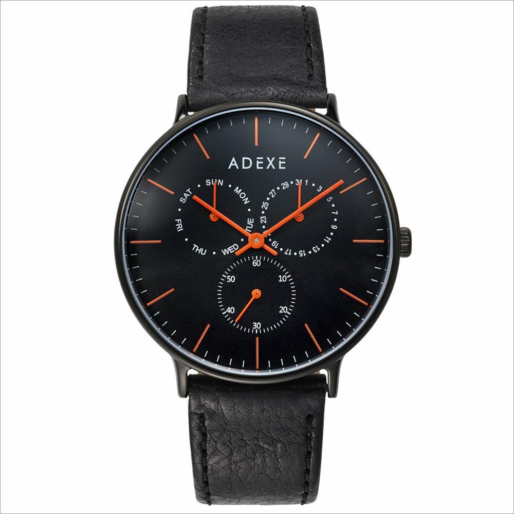 ADEXE (アデクス) 1884B-03 ユニセックス 腕時計 GRANDE (グランデ) 41mm ブラック ギフト インスタ映えマスト! ADEXE (アデクス)