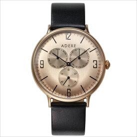 ADEXE (アデクス) 1888C-04 ユニセックス 腕時計 GRANDE (グランデ) 42.5mm ローズゴールド ブラック ギフト インスタ映えマスト! ADEXE (アデクス)