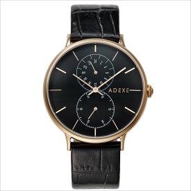 ADEXE (アデクス) 1888D-02 ユニセックス 腕時計 GRANDE (グランデ) 42.5mm ローズゴールド ブラック ギフト インスタ映えマスト! ADEXE (アデクス)