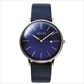 ADEXE (アデクス) 2043A-06 ユニセックス 腕時計 PETITE (プチ) 33mm ローズゴールド ダークブルー ネイビー ギフト インスタ映えマスト! ADEXE (アデクス)