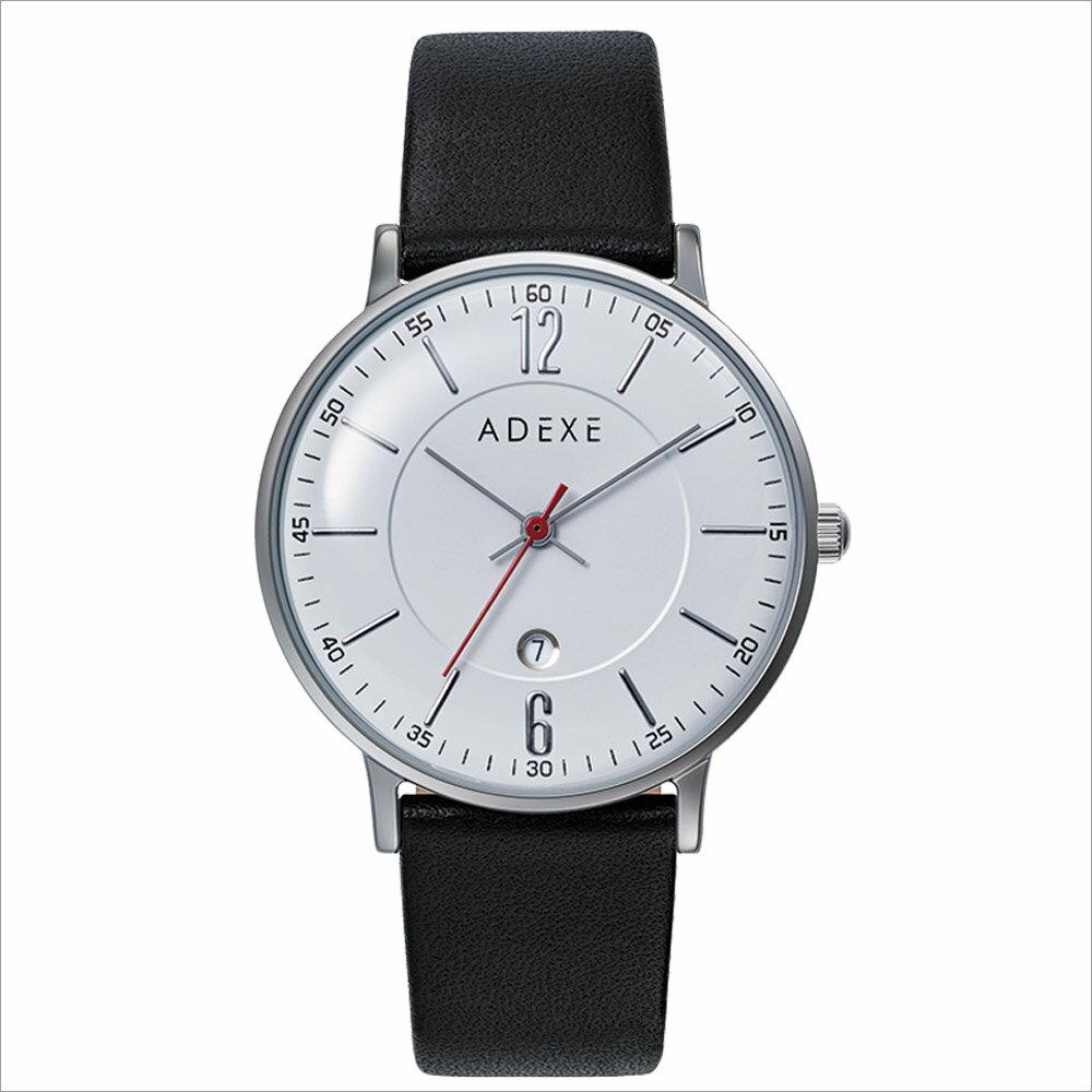 ADEXE (アデクス) 2043B-02 ユニセックス 腕時計 PETITE (プチ) 33mm シルバー ホワイト ブラック ギフト インスタ映えマスト! ADEXE (アデクス)