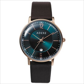 ADEXE (アデクス) 2043B-03 ユニセックス 腕時計 PETITE (プチ) 33mm ローズゴールド グリーン ブラウン ギフト インスタ映えマスト! ADEXE (アデクス)