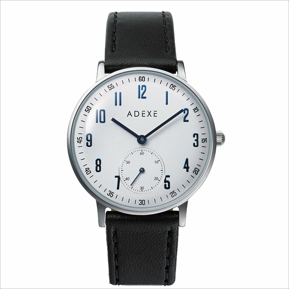 ADEXE (アデクス) 2043C-02 ユニセックス 腕時計 PETITE (プチ) 33mm シルバー ブラック ギフト インスタ映えマスト! ADEXE (アデクス)