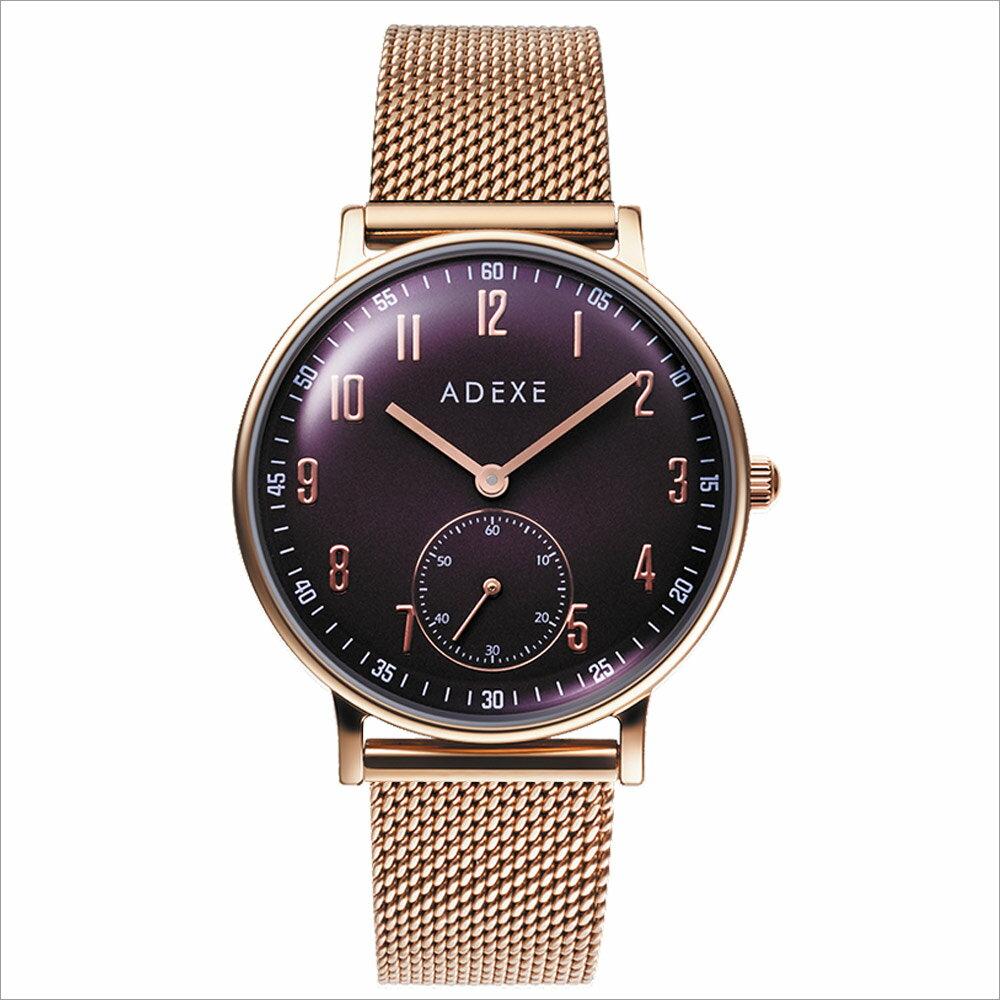 ADEXE (アデクス) 2043C-05 ユニセックス 腕時計 PETITE (プチ) 33mm ローズゴールド パープル ギフト インスタ映えマスト! ADEXE (アデクス)