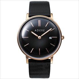 ADEXE (アデクス)2046A-06 ユニセックス 腕時計 GRANDE (グランデ) 41mm ローズゴールド ブラック ギフト インスタ映えマスト! ADEXE (アデクス)