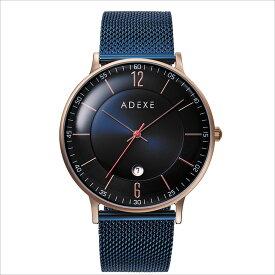 ADEXE (アデクス)2046B-06 ユニセックス 腕時計 GRANDE (グランデ) 41mm ローズゴールド ダークブルー ネイビー ギフト インスタ映えマスト! ADEXE (アデクス)