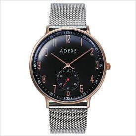 ADEXE (アデクス) 2045A-05 ユニセックス 腕時計 GRANDE (グランデ) 41mm ローズゴールド ダークブルー シルバー ギフト インスタ映えマスト! ADEXE (アデクス)