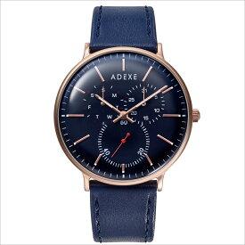 ADEXE (アデクス)2045C-04 ユニセックス 腕時計 GRANDE (グランデ) 41mm ローズゴールド ダークブルー ネイビー ギフト インスタ映えマスト! ADEXE (アデクス)