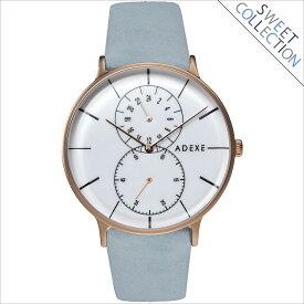 ADEXE (アデクス) 1868D-03-JP17DC1 ユニセックス 腕時計 GRANDE (グランデ) 41mm ローズゴールド ホワイト スカイブルー ギフト インスタ映えマスト! ADEXE (アデクス)