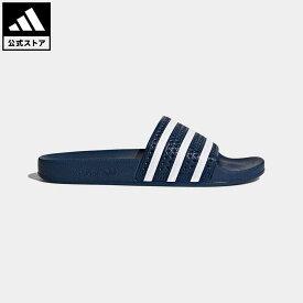 【公式】アディダス adidas 返品可 アディレッタ / ADILETTE オリジナルス レディース メンズ シューズ サンダル 青 ブルー 288022