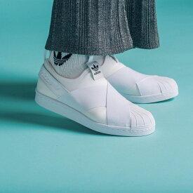 【公式】アディダス adidas SS スリッポン W / SS Slip On W レディース メンズ オリジナルス シューズ スニーカー スリッポン S81338 [whitesneaker]