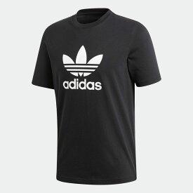 【公式】アディダス adidas オリジナルス Tシャツ [TREFOIL TEE] オリジナルス メンズ ウェア トップス Tシャツ 黒 ブラック CW0709 半袖 p0122