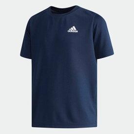 【公式】アディダス adidas B ESS パック入り 吸汗速乾Tシャツ(キッズ/子供用) キッズ CX3799 ジム・トレーニング ウェア ポリエステル モックアイレット