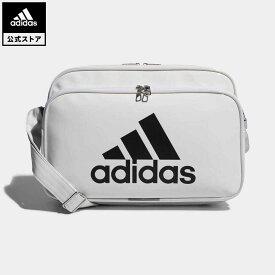 【公式】アディダス adidas 返品可 ジム・トレーニング エナメルバッグ M レディース メンズ アクセサリー バッグ・カバン ショルダーバッグ 白 ホワイト CX4041