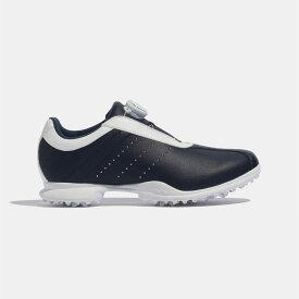 【公式】アディダス adidas ゴルフ ドライバー ボア 2.0 【ゴルフ】 レディース シューズ スポーツシューズ 青 ブルー F33606 スパイクレス